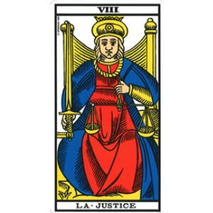 la justice tarot signification