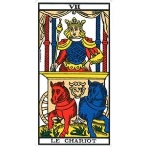 le chariot tarot signification combinaison