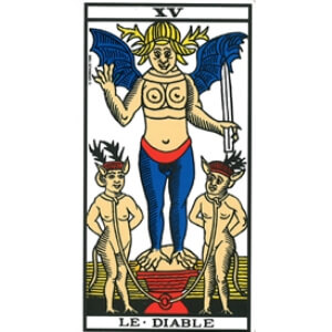 le diable tarot signification