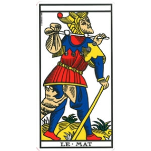 le mat tarot signification