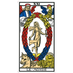 Le monde tarot signification