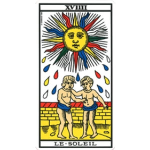 le soleil tarot signification